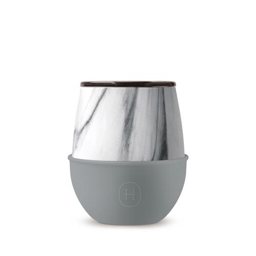 美國HYDY | Delicia 系列時尚蛋型杯(大理石-峽灣)