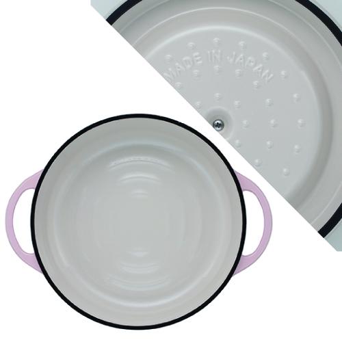 (複製)日本Vermicular|琺瑯鑄鐵鍋26cm(碳黑)VPOT26-MK
