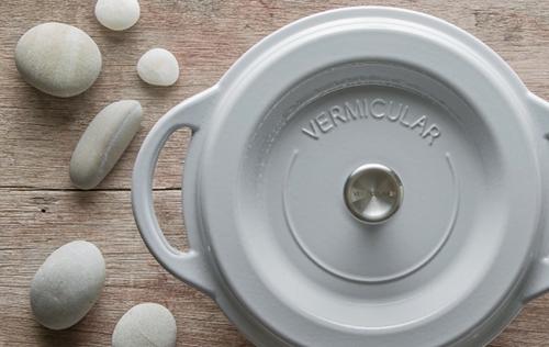 (複製)日本Vermicular|琺瑯鑄鐵鍋18cm(珍珠粉)VPOT18-PK
