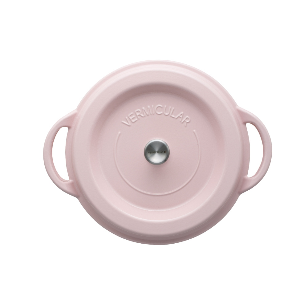 日本Vermicular 琺瑯鑄鐵鍋26cm(珍珠粉)VPOT26-PK