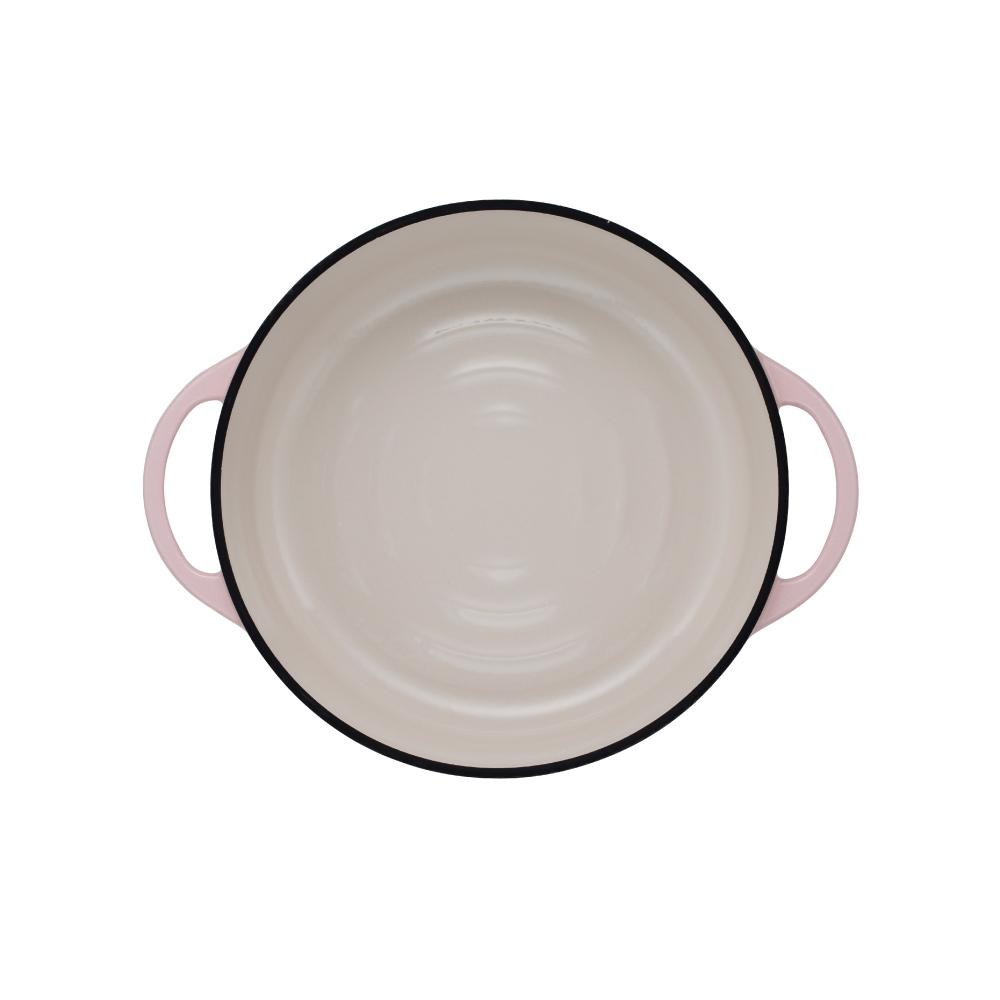 日本Vermicular|琺瑯鑄鐵鍋26cm淺鍋(珍珠粉)VPOT26S-PK