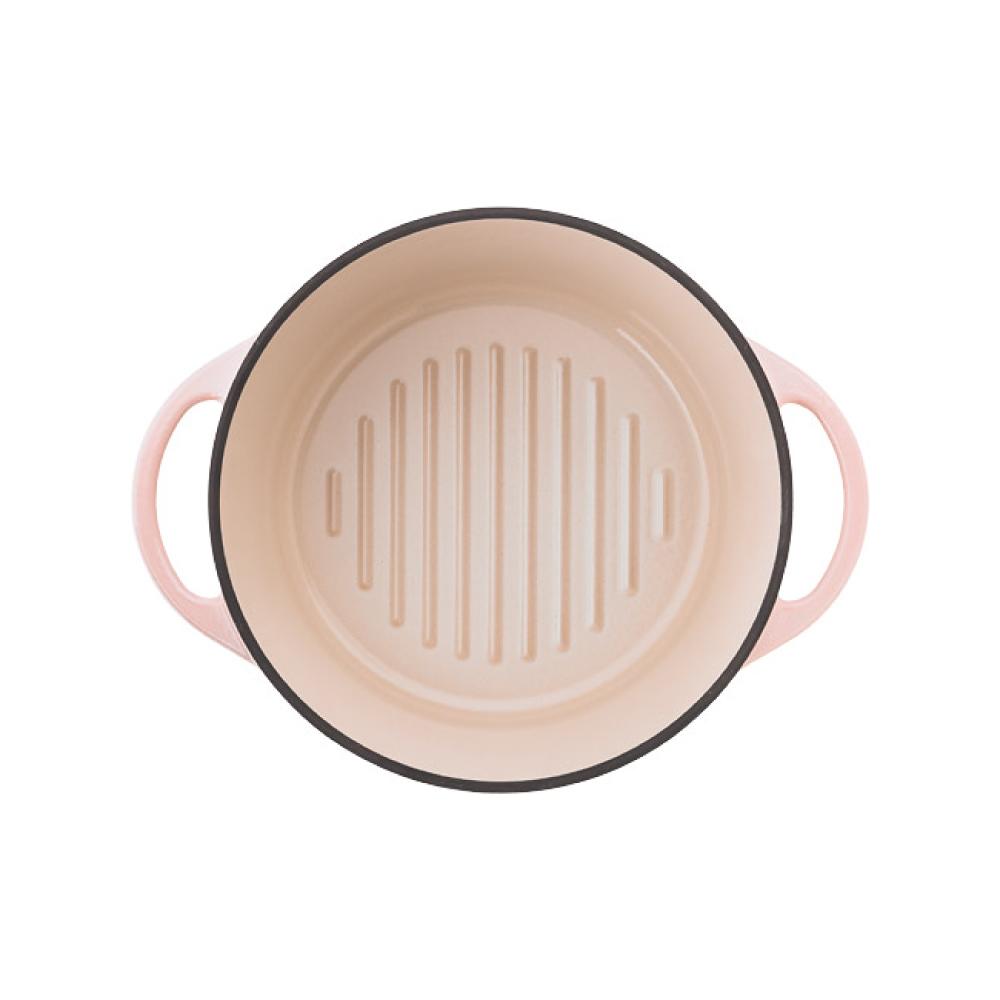 日本Vermicular|琺瑯鑄鐵鍋18cm(珍珠粉)VPOT18-PK