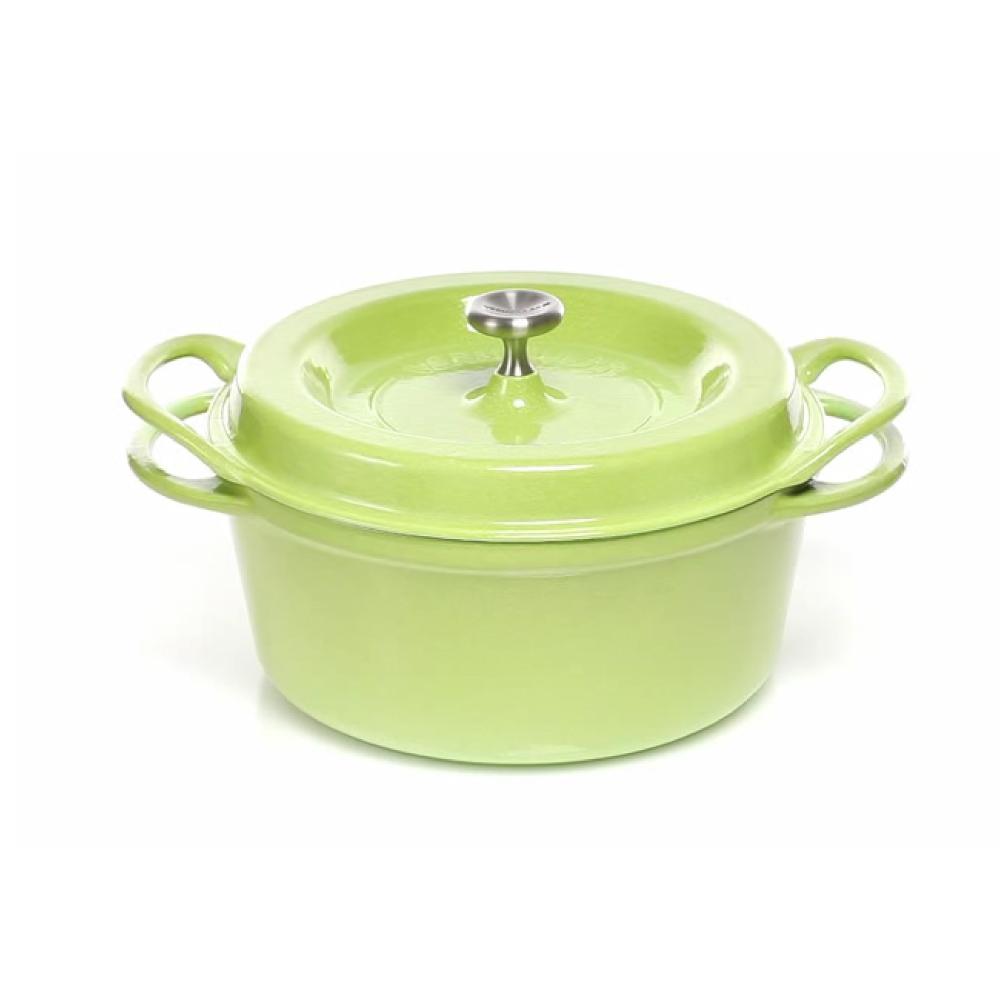 日本Vermicular|琺瑯鑄鐵鍋18cm(珍珠綠)VPOT18-GN