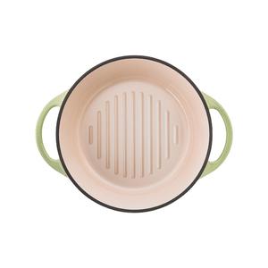 日本Vermicular 琺瑯鑄鐵鍋18cm(珍珠綠)VPOT18-GN