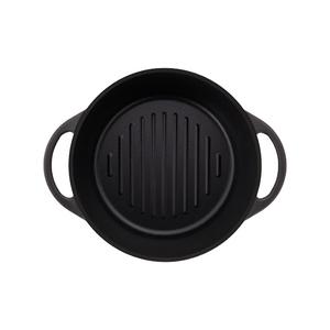 日本Vermicular|琺瑯鑄鐵鍋18cm(碳黑)VPOT18-MK