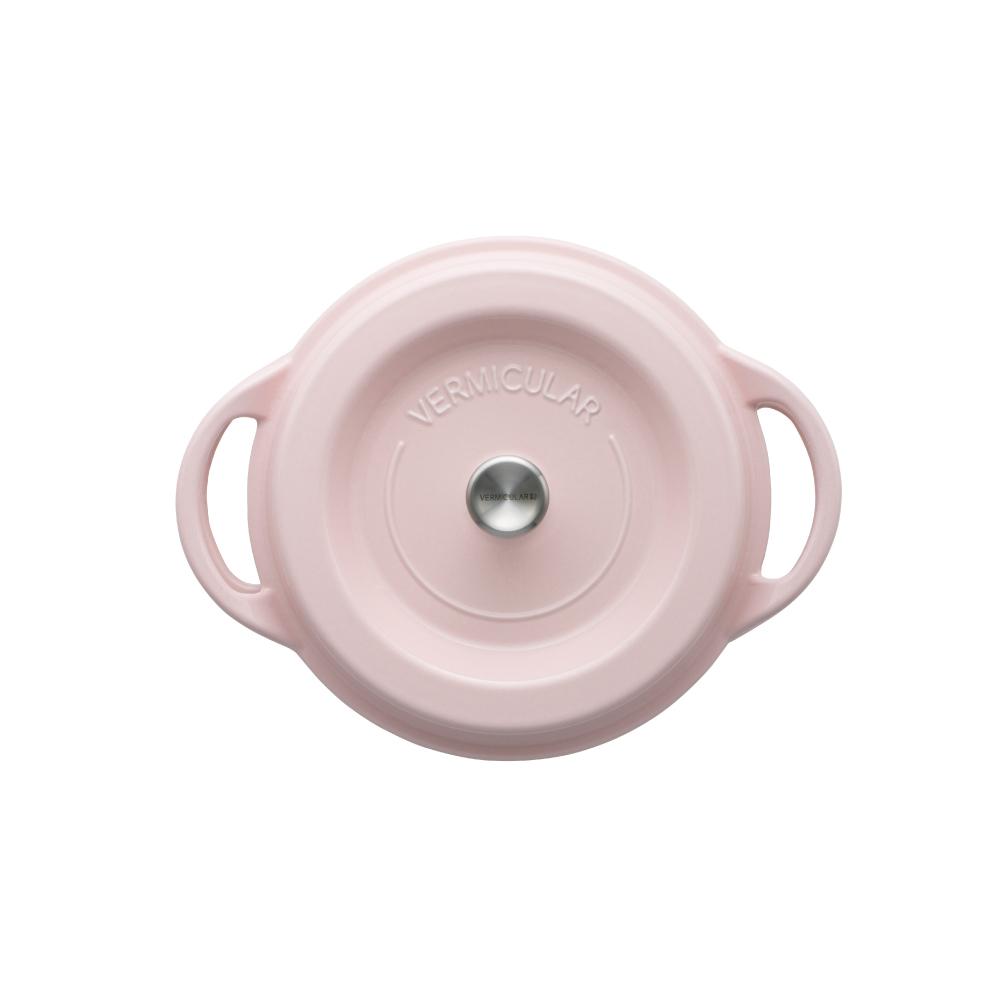 日本Vermicular|琺瑯鑄鐵鍋22cm(珍珠粉)VPOT22-PK