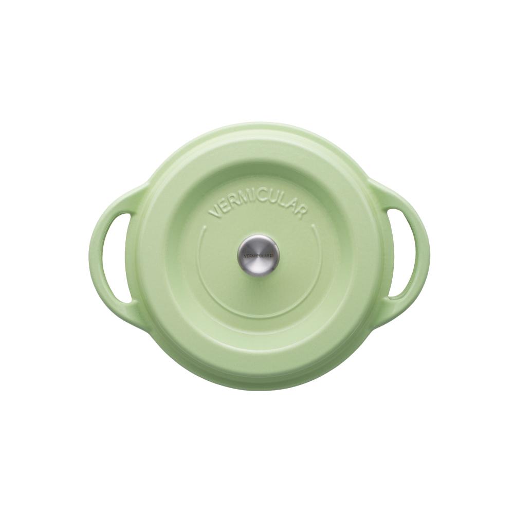日本Vermicular|琺瑯鑄鐵鍋22cm(珍珠綠)VPOT22-GN