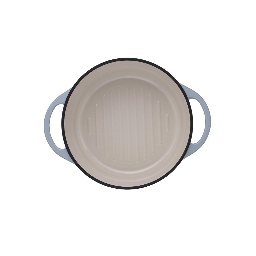 日本Vermicular|琺瑯鑄鐵鍋22cm(石頭色)VPOT22-ST