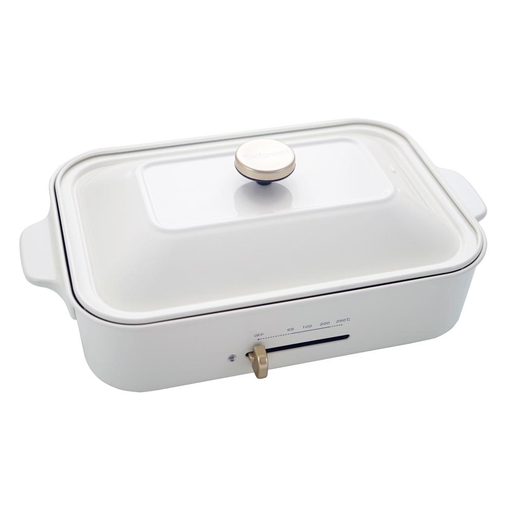 綠恩家enegreen|日式多功能烹調烤爐(珍珠白)KHP-770T