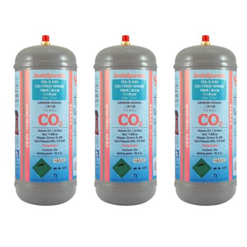 SodaSparkle BigSparkle大器款專用CO2鋼瓶*3入