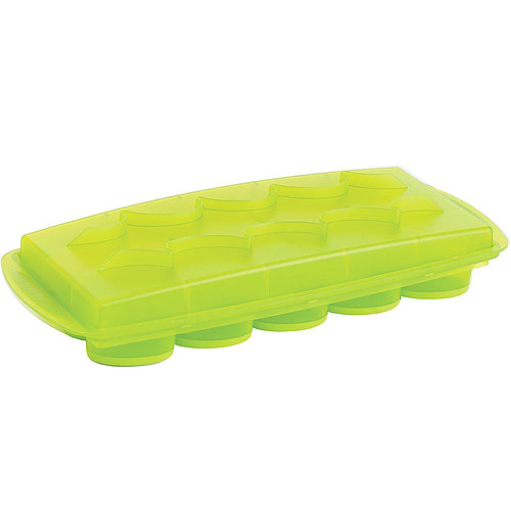 法國mastrad   15格橢圓形按壓製冰盒(綠)