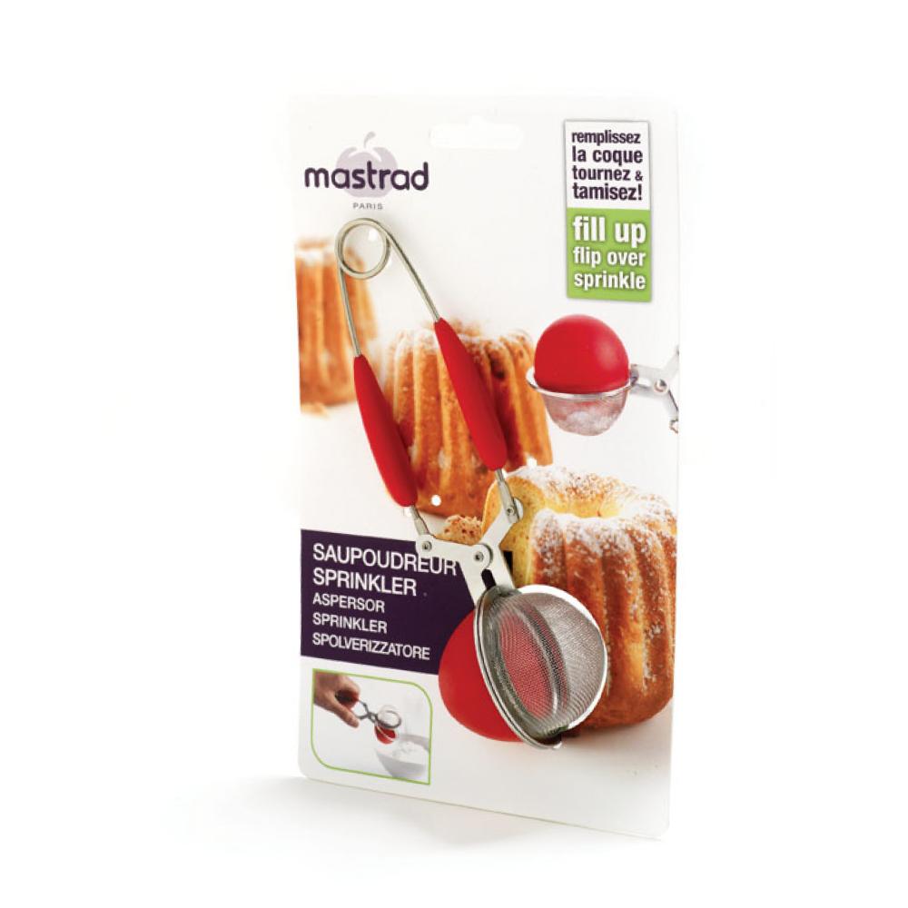 法國mastrad  | 矽膠多用途濾球(紅)