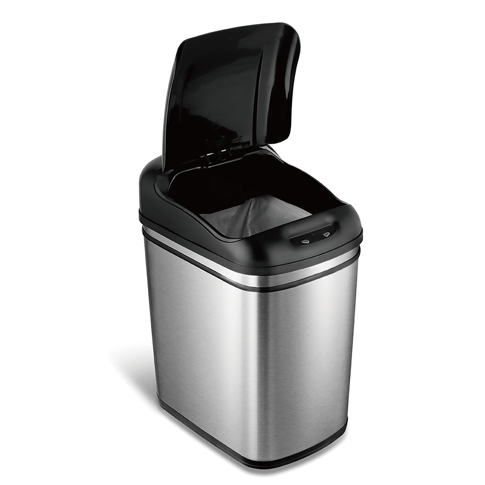 美國NINESTARS| 時尚不銹鋼感應垃圾桶24L  (廚衛系列)