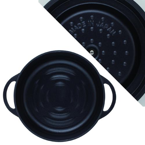 (複製)日本Vermicular|琺瑯鑄鐵鍋26cm淺鍋(米黃)VPOT26S-NB
