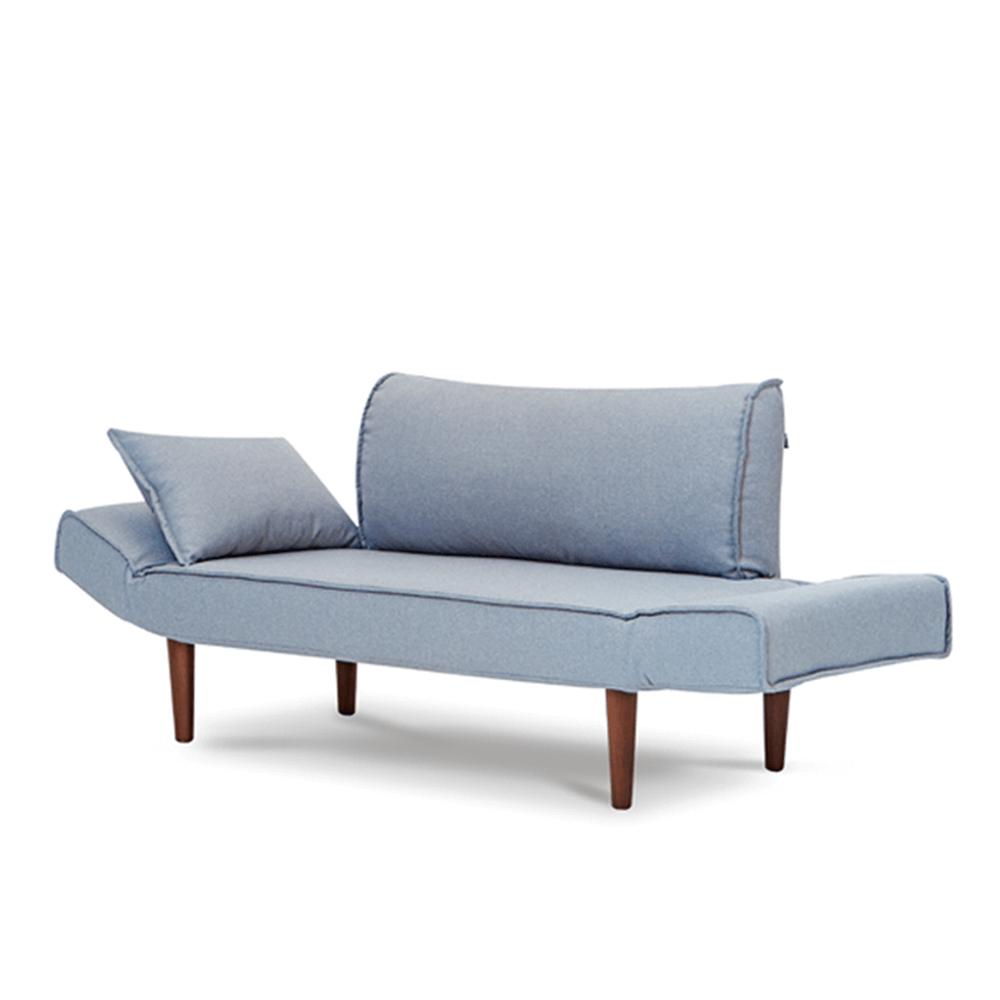 AJ2|雨果|石墨灰|雙人座沙發床