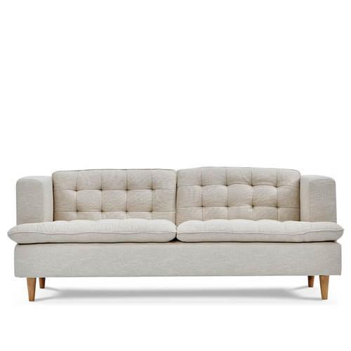 AJ2|蜜蕊|經典白|三人座沙發