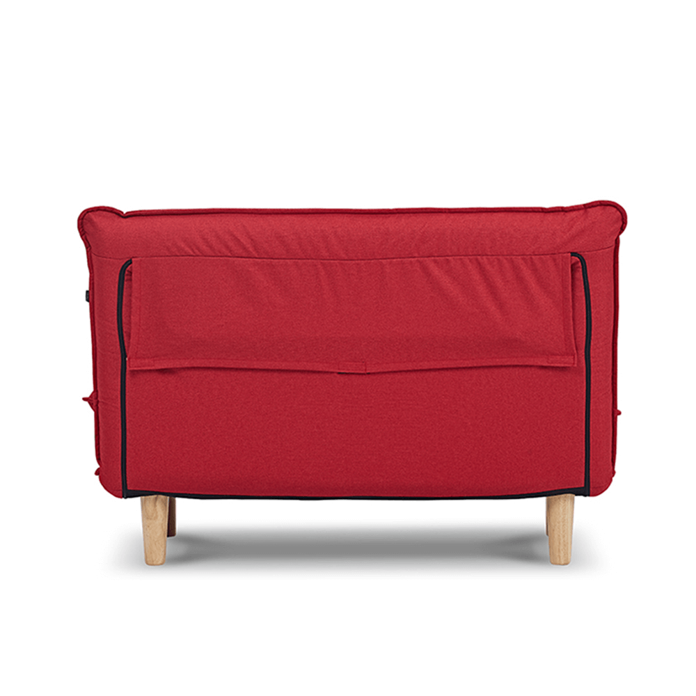 AJ2|奧圖|棠莓紅|雙人座沙發床