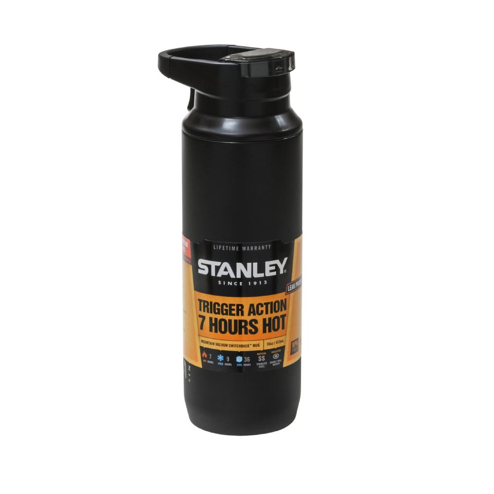 Stanley|SwitchBack 單手真空保溫杯473ml(黑色)