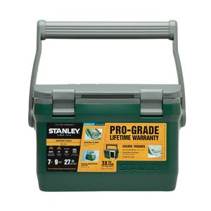 Stanley|6.6L可提式超長效能保溫冰桶/野餐籃-綠 (可攜水壺/做椅子)