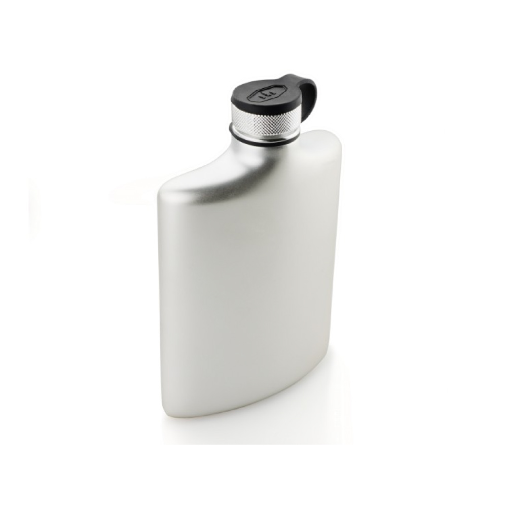美國GSI|Glacier Stainless 8FL. OZ. Hip Flask 不鏽鋼酒壺
