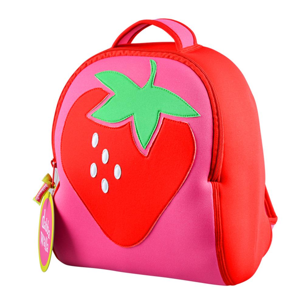 美國Dabbawalla瓦拉包|草莓兒童後背包