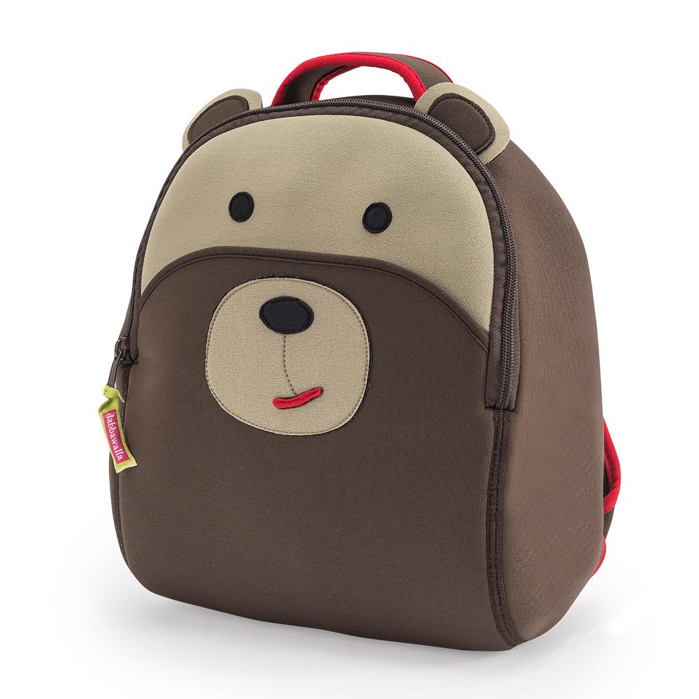 美國Dabbawalla瓦拉包|棕熊兒童後背包