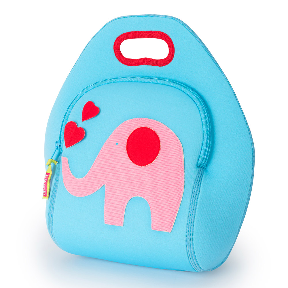 美國Dabbawalla瓦拉包|大象兒童手提包