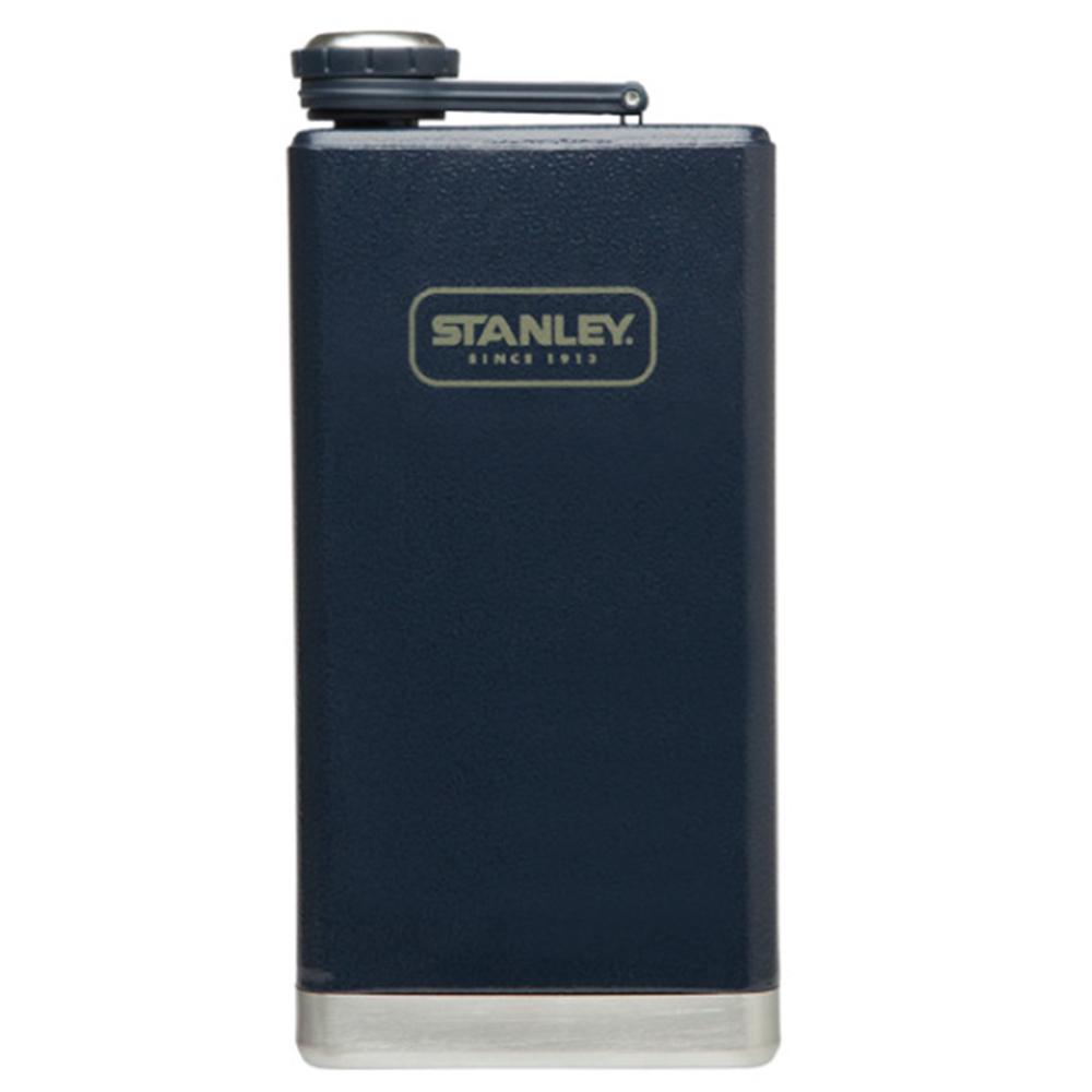 美國Stanley|SS經典酒壺236ml(錘紋藍)