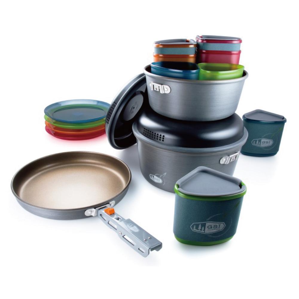 美國GSI|Pinnacle Camper 四人套鍋組