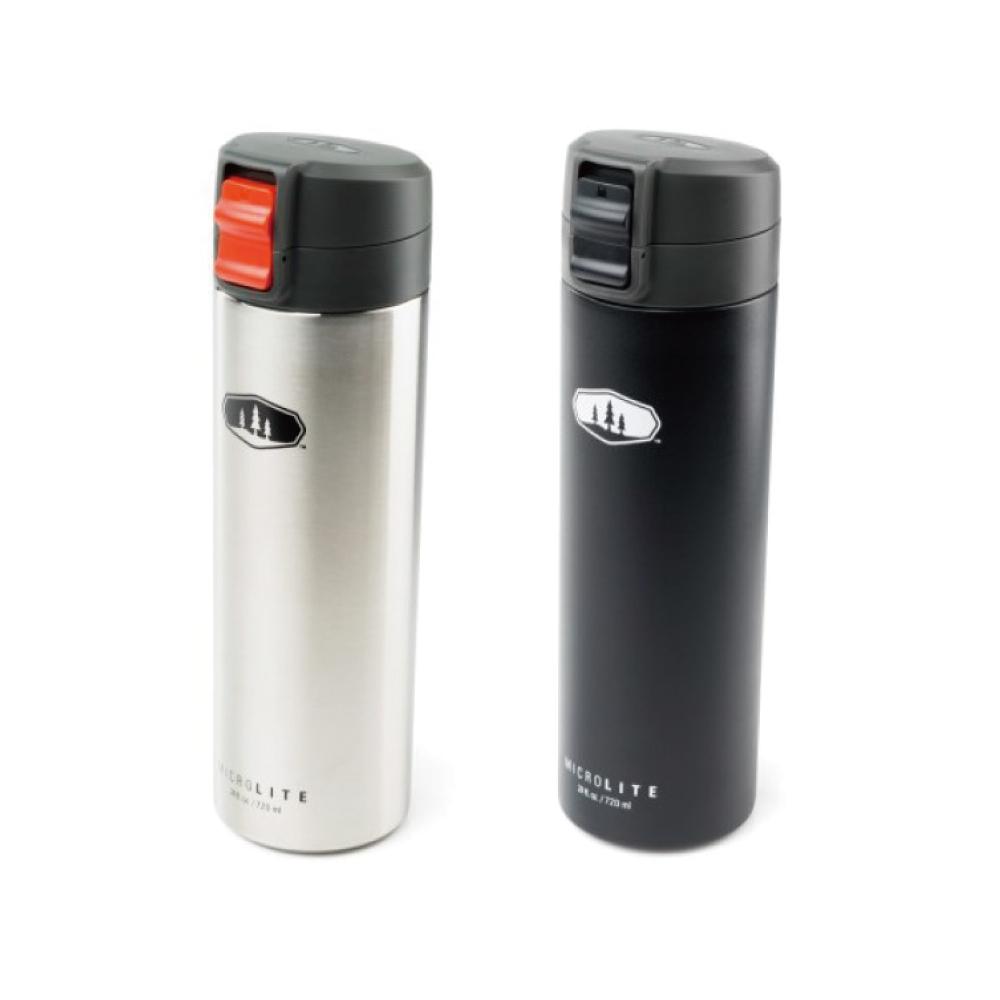 美國GSI|輕量單手彈蓋不鏽鋼保溫瓶-0.7L