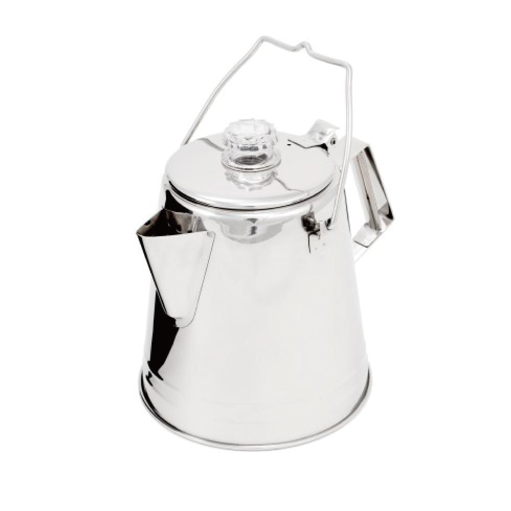 美國GSI|Glacier Stainless 8 Cup PERC 不銹鋼營火燒水壺-1.2L