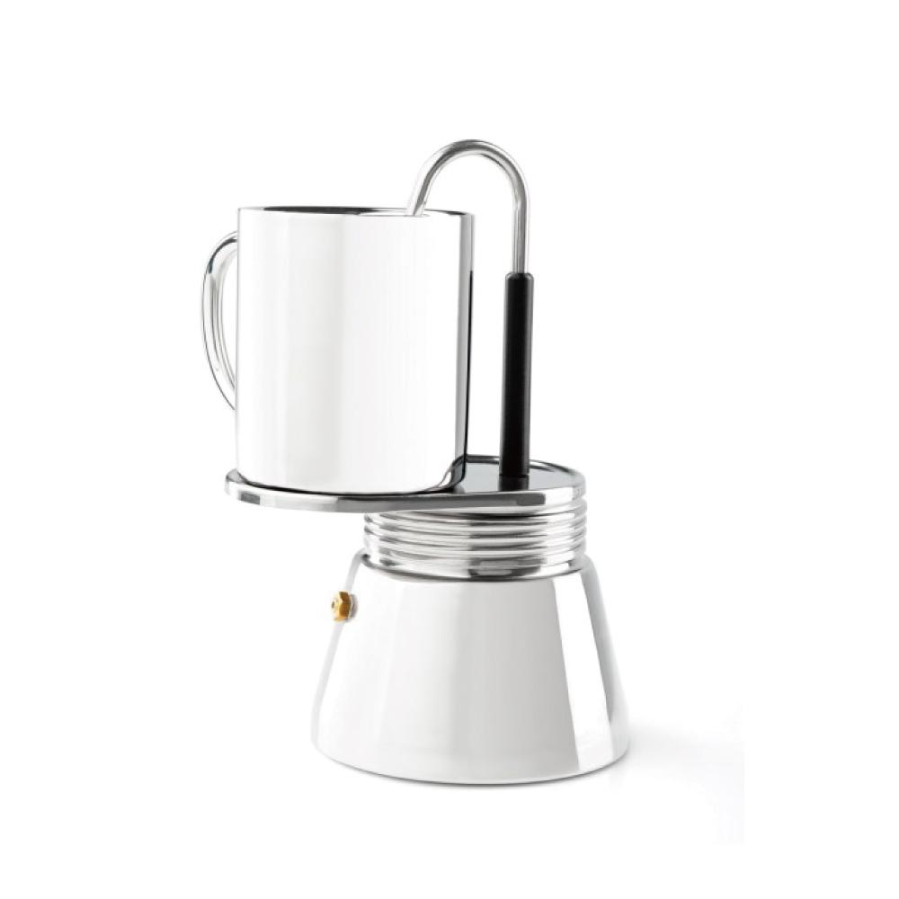 美國GSI 不鏽鋼義式咖啡壺4杯份