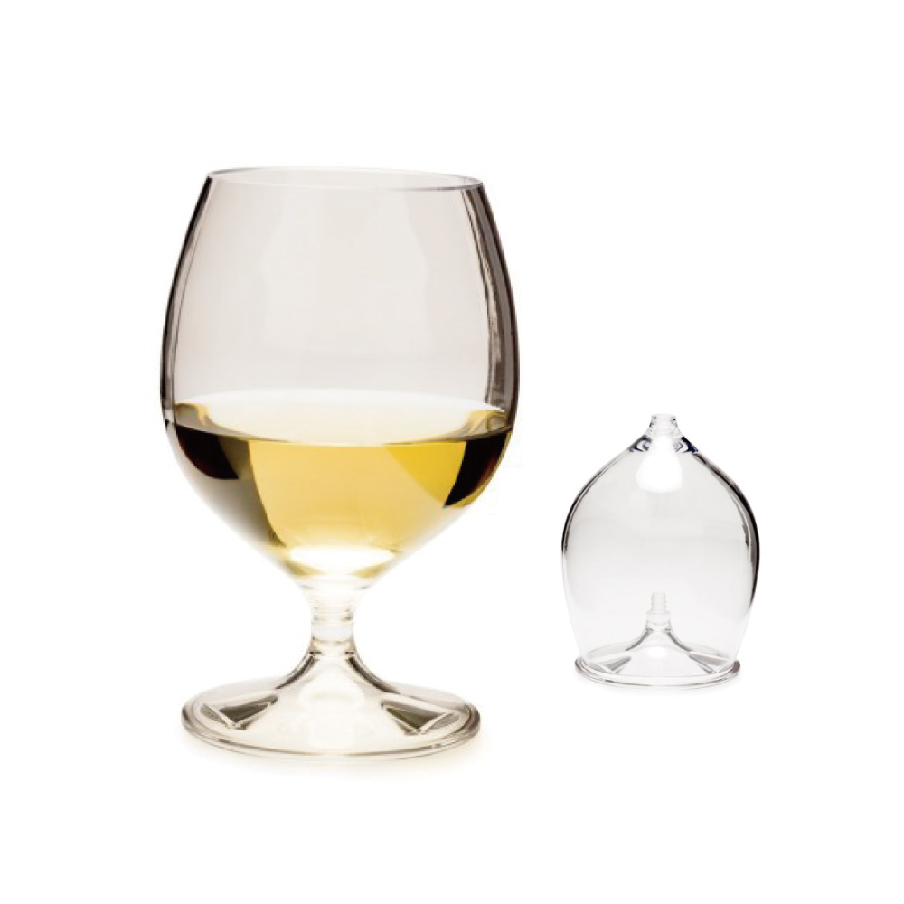 美國GSI|白蘭地酒杯445ml(可收疊)X3入