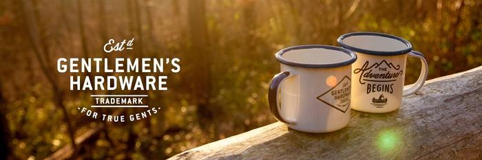 英國琺瑯 Wild & Wolf 英國風探險家系列 濃縮咖啡雙杯組