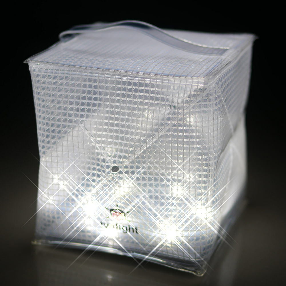 SOLIGHT DESIGN 發光泡芙Solarpuff-太陽能LED摺疊燈-迷你版(紅白雙色)