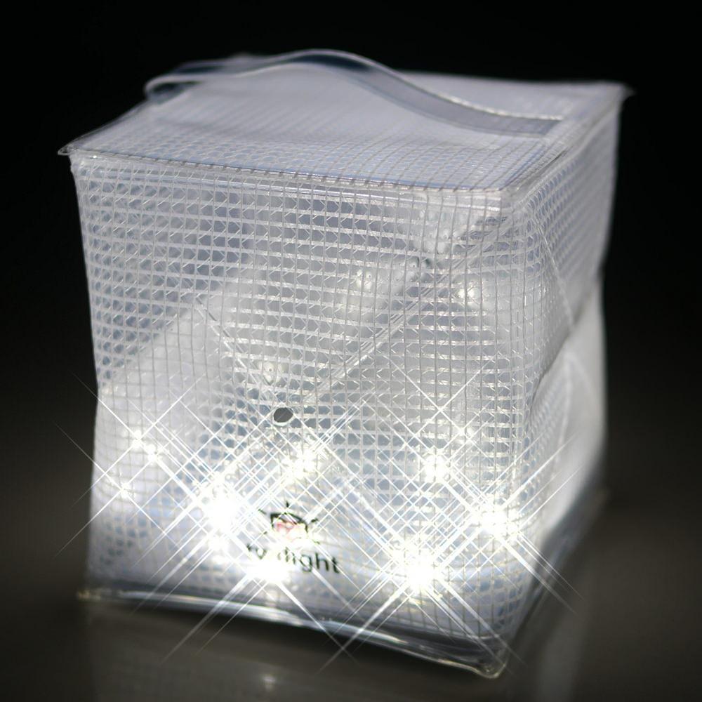 SOLIGHT DESIGN|發光泡芙Solarpuff-太陽能LED摺疊燈-迷你版(紅白雙色)