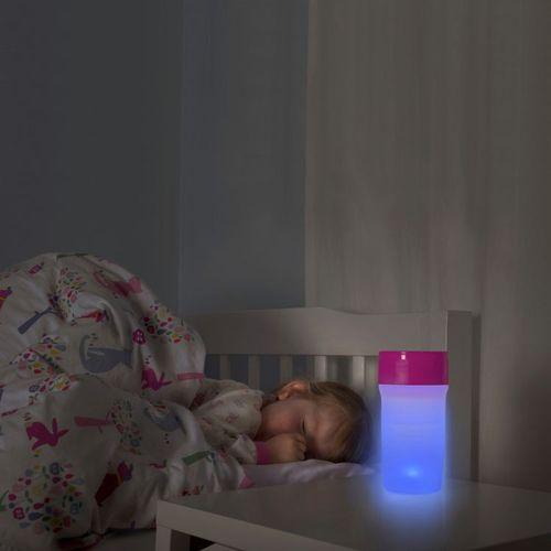 英國 litecup│發光不灑杯 全家人的夜燈水杯 閃亮藍