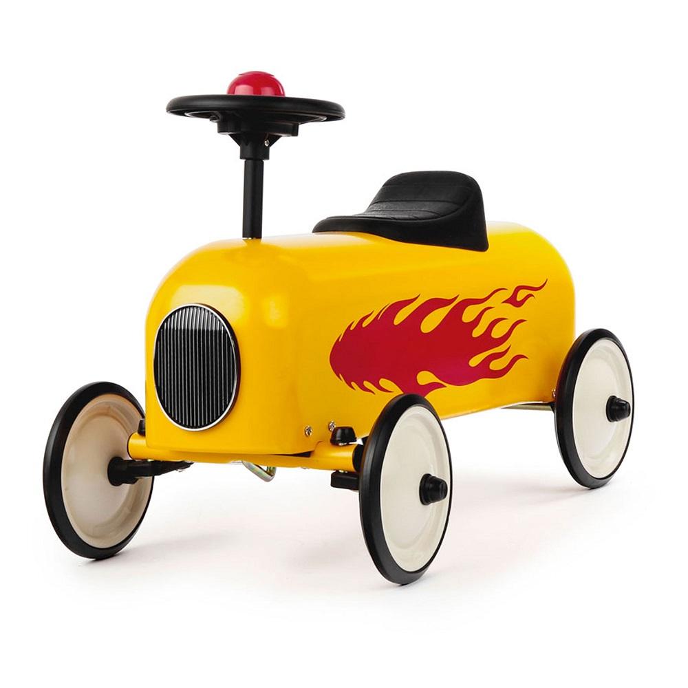 Baghera Racers Rouge 經典小車 (黃)