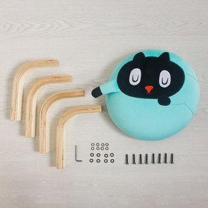 Kuroro 貓貓掌小椅(藍色)
