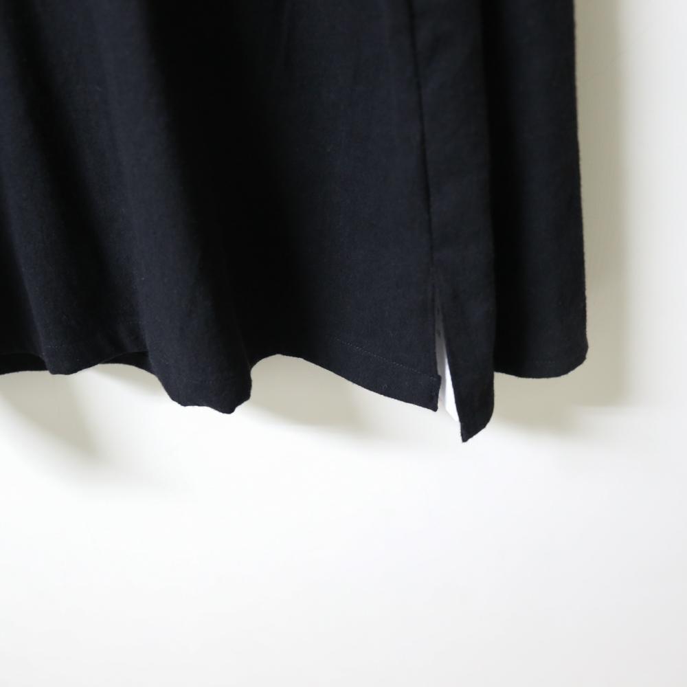 野地|/菫花/ 黑高領
