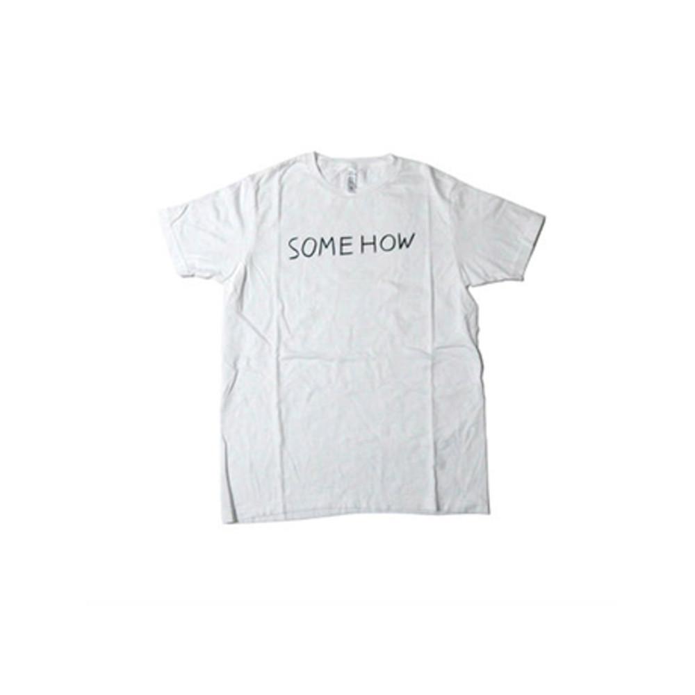 NORITAKE SOMEHOW T-SHIRT(WHITE)