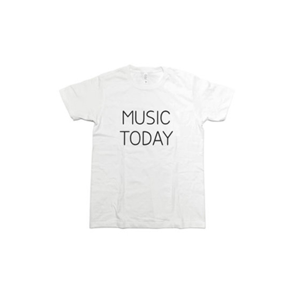 NORITAKE|MUSIC TODAY T-SHIRT(WHITE)