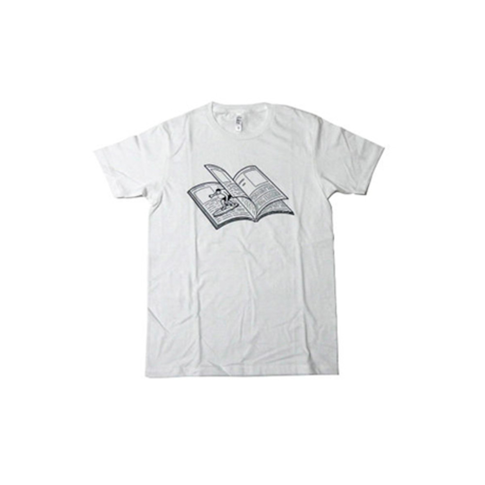NORITAKE|MAGAZINE WAVE T-SHIRT(WHITE)