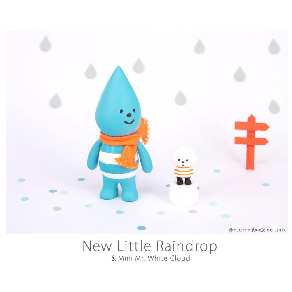 Fluffy House 公仔系列-新小雨點&迷你白雲先生