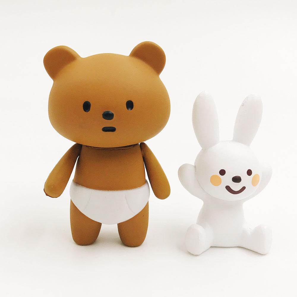 Fluffy House|公仔系列-尿布熊&搗蛋兔