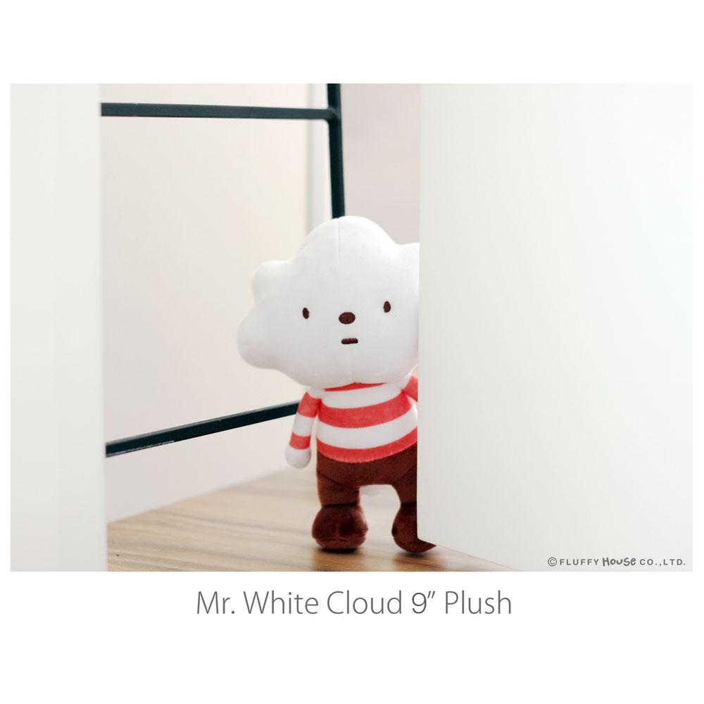 Fluffy House|娃娃-白雲先生布娃娃