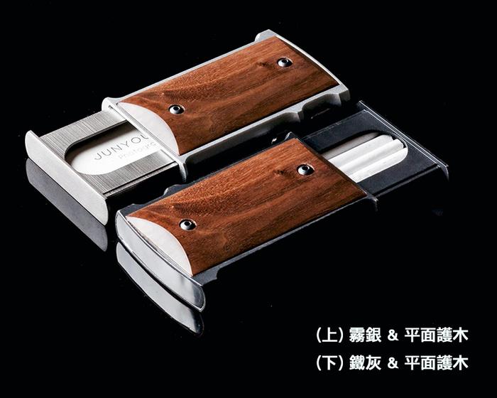 LKB M1911-h 全金屬擬真彈藥填裝卡片夾/香煙盒