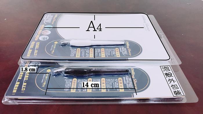 LKB|安全滾輪筆刀-Rolling Sharp Mark3-Retail Pack (5組入)