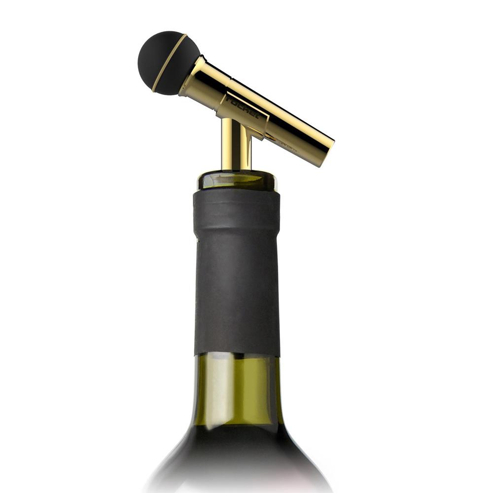 Rocket|麥克風造型酒瓶塞