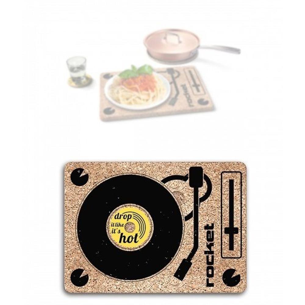 Rocket|DJ唱盤造型多功能餐墊